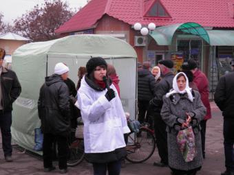 «Фронтовики» збирали підписи за відставку Януковича