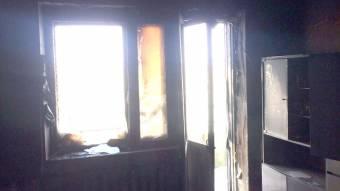 У Машівці під час гасіння пожежі в квартирі вогнеборці виявили тіло жінки