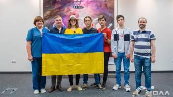 Із міжнародної олімпіади з інформатики та астрономії полтавські учні привезли 4 медалі