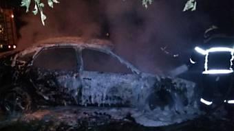 У Кременчуці згорів автомобіль «Audi»