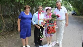 Рубінове весілля в День села