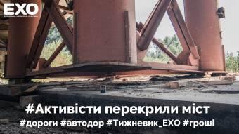 Активісти перекрили міст біля Бутенок