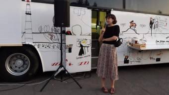 У Пирятині курсував мистецький автобус