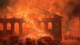 Незвичайна пожежа