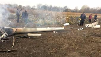 На Полтавщині упав гелікоптер, загинув екс-міністр аграрної політики
