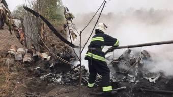 Гелікоптер, який упав у Оржицькому районі, летів із Києва у Нижні Млини