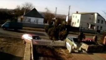 У Нових Санжарах 17-річний мотоцикліст врізався в автомобіль голови Руденківської сільради