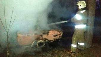 У селі під Полтавою згорів автомобіль
