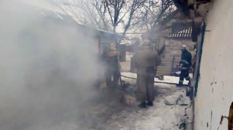 У Царичанці в пожежі загинув чоловік