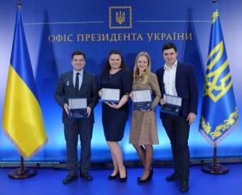 Президент України вручив премії молодим вченим