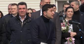 Президент України Володимир Зеленський прибув до Нових Санжар