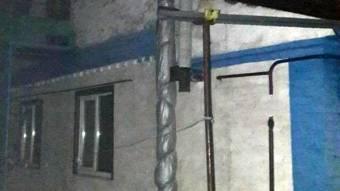 У Миргородському районі вночі горів будинок
