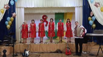 Святковий концерт увідремонтованому залі