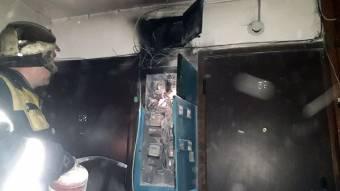 У Кременчуці в будинку горіла електрощитова