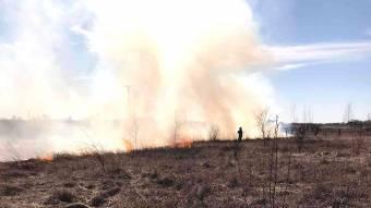 Рятувальники за добу ліквідували 5 пожеж на відкритій території