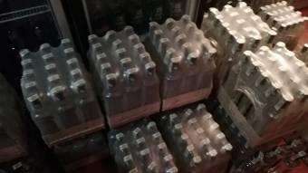 У Решетилівці виявили понад тисячу літрів підробленої горілки