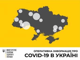 В Україні зафіксовано 311 випадків коронавірусної хвороби COVID-19