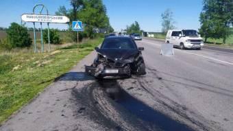 Аварія з чотирма автомобілями
