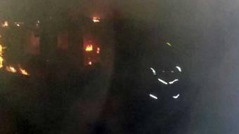 У Зіньківському районі внаслідок пожежі у будинку господарка отримала опіки