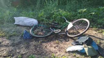 Біля Нових Санжар вантажівка наїхала на велосипедиста
