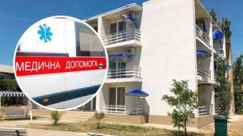 У Кирилівці з бази відпочинку десятки «швидких» вивозять людей з температурою під 39 градусів