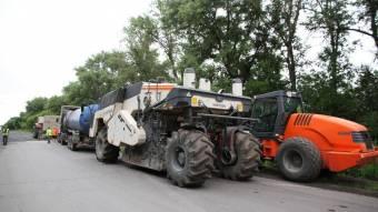 На Полтавщині розпочали ремонт дороги Гадяч – Опішня
