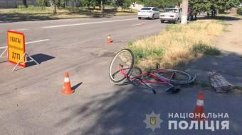У Кременчуці автомобілем ВАЗ збили велосипедиста