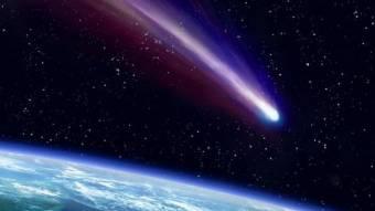 А завтра прилетить комета