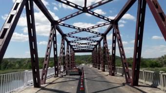 «Лучанський» міст відремонтували