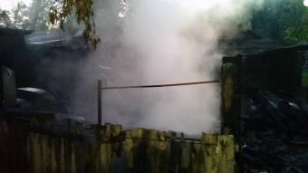 У Гадяцькому районі вогнеборці врятували від вогню 3 будівлі