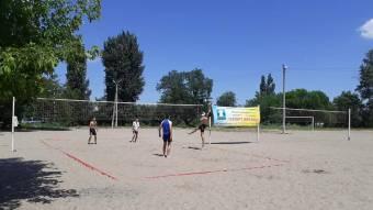 Пляжний волейбол: царичани стали третіми
