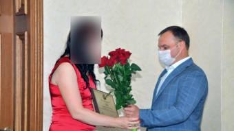 За допомогу у виявленні «полтавськогго терориста» нагородили жительку Опішні