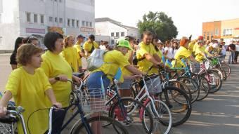 Державні свята зустріли патріотичним велопробігом