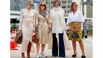 Покупка одежды осенью в Интернете