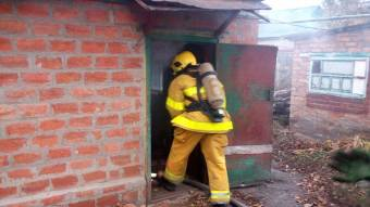У Гадячі під час гасіння пожежі в будинку вогнеборці виявило тіло господаря
