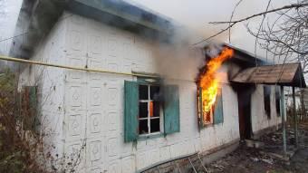 Козельщинський район: під час пожежі у житловому будинку загинув господар