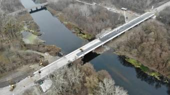 Міст поблизу Гадяча добудують до кінця року