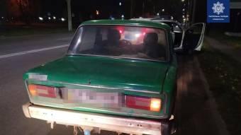 Кременчуцькі поліцейські зупинили водія у стані надзвичайно сильного оп'янінні