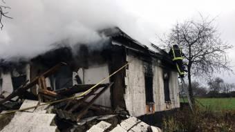 У Хорольському районі на місці пожежі у житловому будинку виявлено загиблого власника