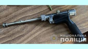 У жителя Лубен вилучили саморобний пістолет