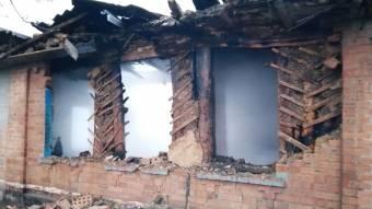 У Чутівському районі вщент згорів будинок разом із власницею