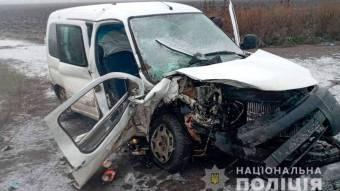 На Полтавщині зіткнулися два легковики - одна людина загинула