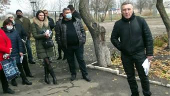Частина китайгородців протестують проти початку робіт в урочищі Свинячому