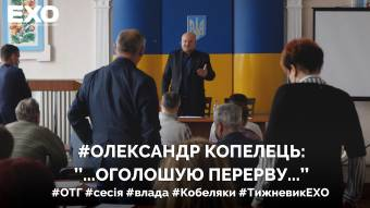 Копелець просить підтримки в обласної ради
