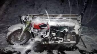 На Гаддячині мотоцикліст злетів із дороги і важко травмувався