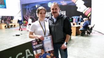 Поліна Колодочка стала призеркою всеукраїнського чемпіонату