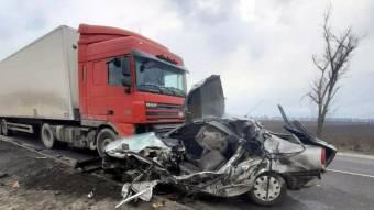 Потрійна аварія з трупом