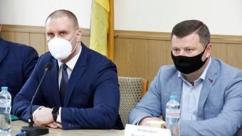 Олег Синєгубов представив нового голову Миргородської РДА
