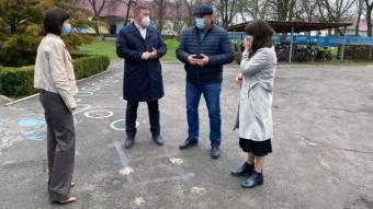На Новосанжарщині капітально ремонтують навчальний заклад