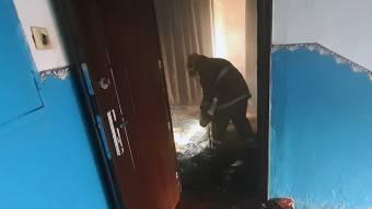 У Козельщині горіла квартира